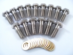 TITANIUM REAR WHEEL CENTERBOLT KIT