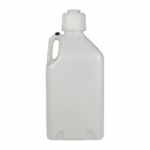 WHITE 5 GALLON UTILITY JUG