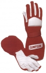 SIMPSON MEDIUM RED TALON GLOVES