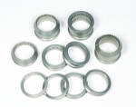 10PC ALUMINUM WHEEL SPACER KIT