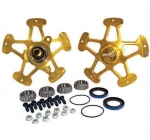 WINTERS TRACKSTAR 5 GOLD HUB SET