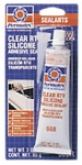 CLEAR SILICONE SEALER