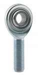 "3/8"" RH MALE STEEL ROD END"