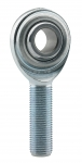 "3/16"" (10-32) MALE LH STEEL ROD END"