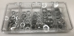 AN WASHER KIT 145 PIECES STAINLESS .060