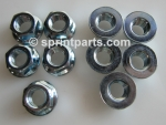 FLANGED WHEEL NUT SET
